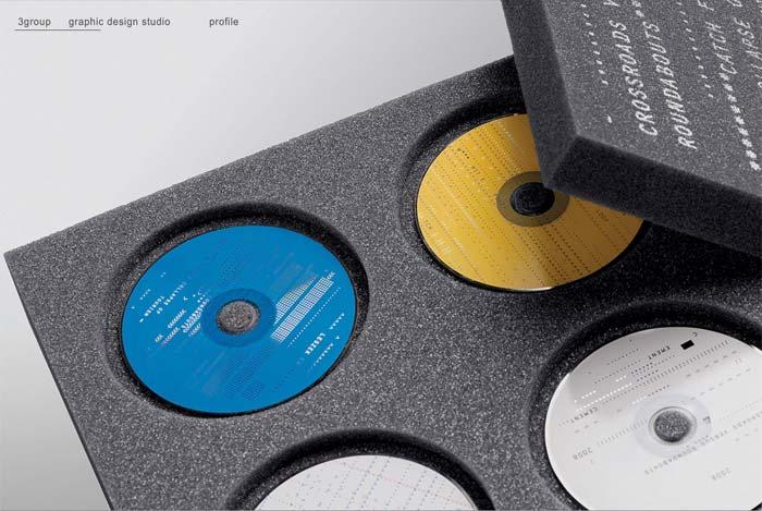 3 Group print design / печатная продукция - лучшие образцы мира